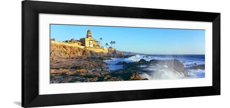 View of Hotel on the Coast, Hacienda Cerritos, Cerritos Beach, Cerritos--Framed Art Print