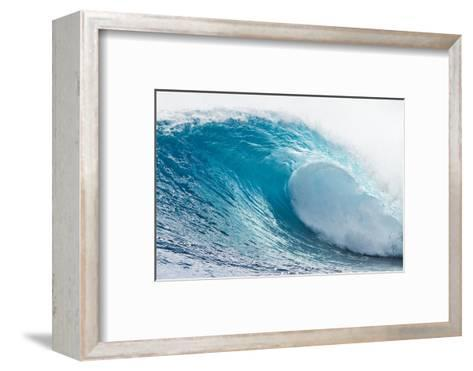 Waves in the Ocean, Tahiti, French Polynesia--Framed Art Print