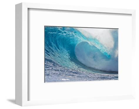 Waves in the Ocean, Tahiti, French Polynesia--Framed Art Print