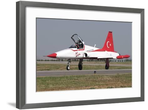 A Nf-5A of the The Turkish Stars Aerobatic Display Team-Stocktrek Images-Framed Art Print