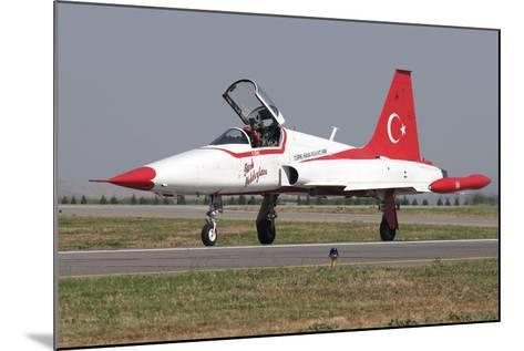 A Nf-5A of the The Turkish Stars Aerobatic Display Team-Stocktrek Images-Mounted Photographic Print