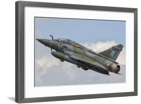 A French Air Force Mirage 2000N Taking Off-Stocktrek Images-Framed Art Print