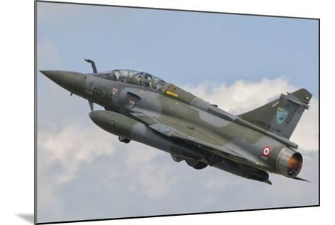 A French Air Force Mirage 2000N Taking Off-Stocktrek Images-Mounted Photographic Print