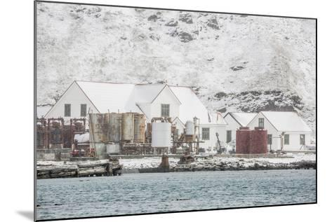 British Antarctic Survey Research Station-Michael Nolan-Mounted Photographic Print
