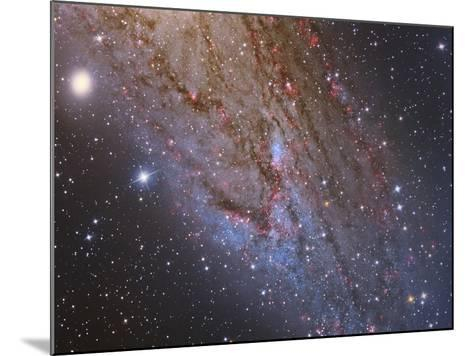 Close-Up of the Southwest Spiral Arm of Messier 31-Stocktrek Images-Mounted Photographic Print