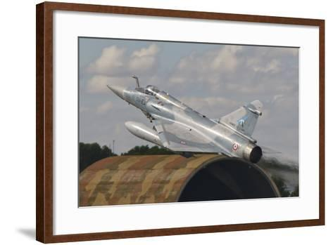 A French Air Force Mirage 2000C Taking Off in Spain-Stocktrek Images-Framed Art Print