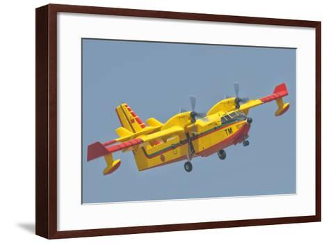 A Royal Moroccan Air Force Cl-415-Stocktrek Images-Framed Art Print