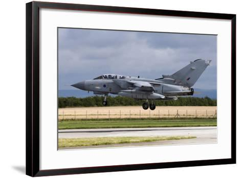 A Royal Air Force Tornado Gr4A Landing at its Home Base-Stocktrek Images-Framed Art Print