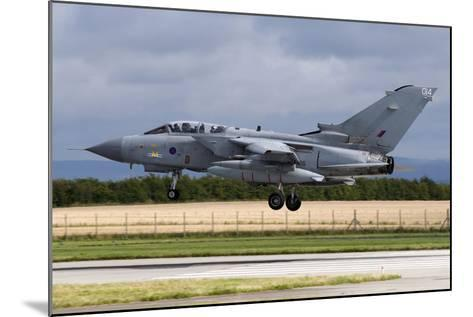 A Royal Air Force Tornado Gr4A Landing at its Home Base-Stocktrek Images-Mounted Photographic Print