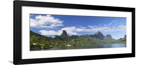 Cook's Bay, Moorea, Society Islands, French Polynesia, South Pacific, Pacific-Ian Trower-Framed Art Print