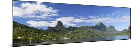 Cook's Bay, Moorea, Society Islands, French Polynesia, South Pacific, Pacific-Ian Trower-Mounted Photographic Print