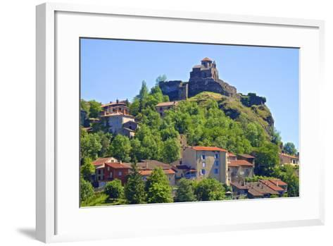 Medieval Castle Dating from the 15th Century, France-Guy Thouvenin-Framed Art Print