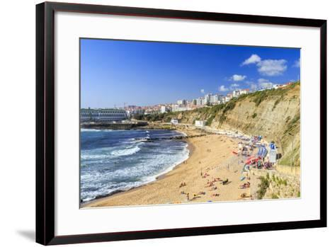 Top View of the Village of Ericeira-Roberto Moiola-Framed Art Print