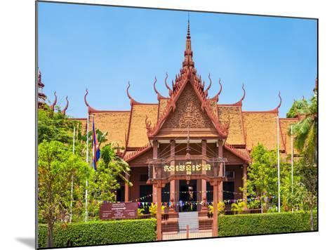 National Museum of Cambodia, Phnom Penh, Cambodia, Indochina, Southeast Asia, Asia-Jason Langley-Mounted Photographic Print
