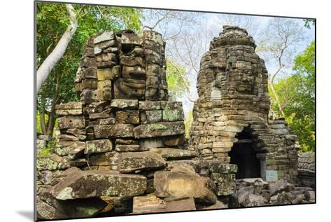 Banteay Chhmar, Ankorian-Era Temple Ruins, Banteay Meanchey Province, Cambodia, Indochina-Jason Langley-Mounted Photographic Print