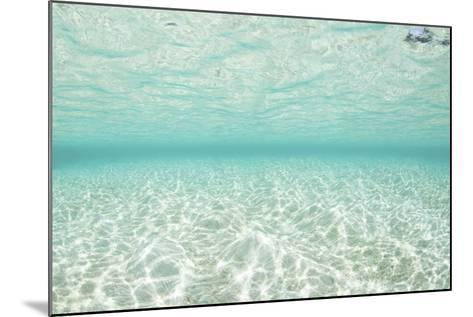 Bright Sunlight Dances across a Shallow Sand Seafloor in Palau-Stocktrek Images-Mounted Photographic Print