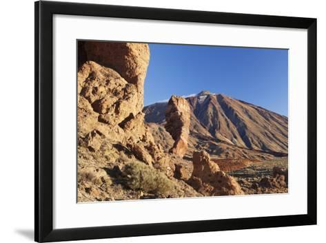 Los Roques De Garcia at Caldera De Las Canadas, National Park Teide, Canary Islands-Markus Lange-Framed Art Print