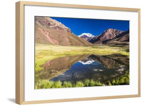 Aconcagua, Argentina-Matthew Williams-Ellis-Framed Art Print