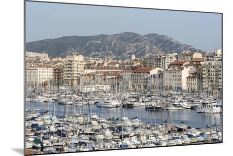 The Old Port of Marseille (Vieux Port) in Marseille, Mediterranean-Chris Hepburn-Mounted Photographic Print