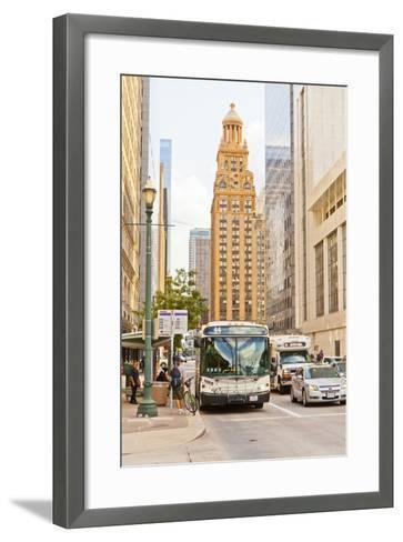 Street Scene, Houston, Texas, United States of America, North America-Kav Dadfar-Framed Art Print