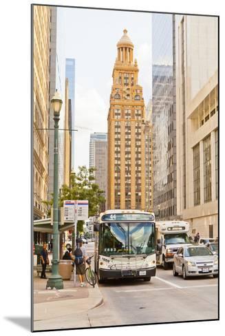 Street Scene, Houston, Texas, United States of America, North America-Kav Dadfar-Mounted Photographic Print