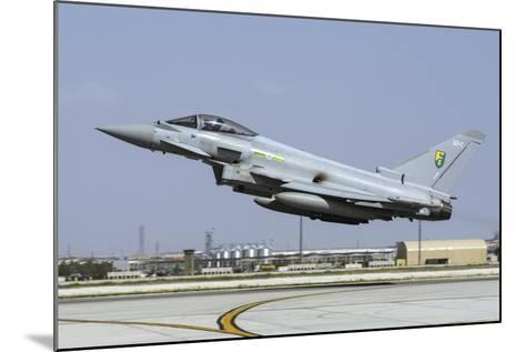 A Royal Air Forcetyphoon Fgr4 Taking Off from Konya Air Base, Turkey-Stocktrek Images-Mounted Photographic Print