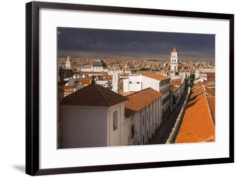 Historic City of Sucre Seen from Iglesia Nuestra Senora De La Merced, Bolivia-Matthew Williams-Ellis-Framed Art Print