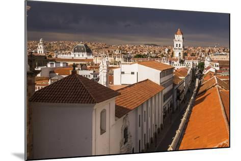 Historic City of Sucre Seen from Iglesia Nuestra Senora De La Merced, Bolivia-Matthew Williams-Ellis-Mounted Photographic Print