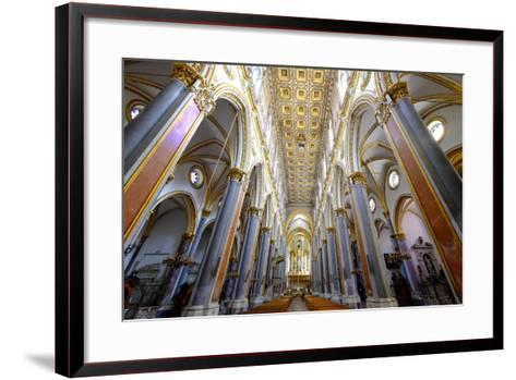 San Domenico Maggiore Church, Naples, Campania, Italy, Europe-Carlo Morucchio-Framed Art Print