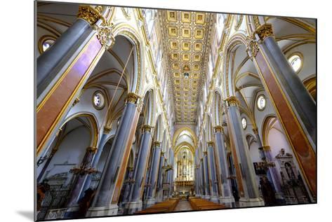 San Domenico Maggiore Church, Naples, Campania, Italy, Europe-Carlo Morucchio-Mounted Photographic Print