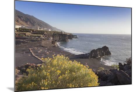 Playa De Charco Verde, Puerto Naos, La Palma, Canary Islands, Spain, Europe-Markus Lange-Mounted Photographic Print