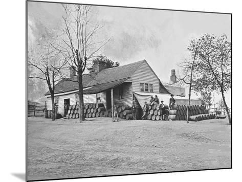 Commissary Headquarters, Rocky Face Ridge, Georgia, During the American Civil War-Stocktrek Images-Mounted Photographic Print