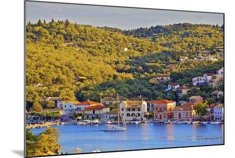 Gaios Harbour, Paxos, the Ionian Islands, Greek Islands, Greece, Europe-Neil Farrin-Mounted Photographic Print