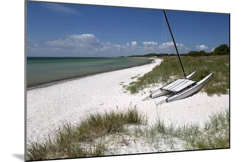 White Sand Beach and Sand Dunes, Skanor Falsterbo, Falsterbo Peninsula, Skane, South Sweden, Sweden-Stuart Black-Mounted Photographic Print