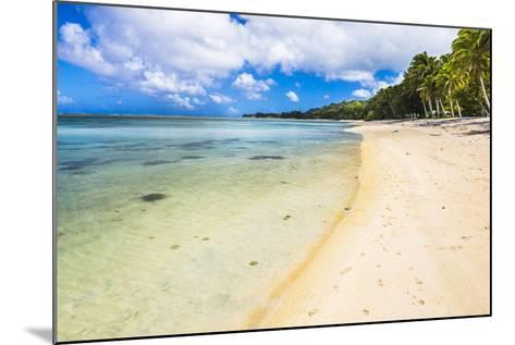 Tropical Beach in Muri Area of Rarotonga, Cook Islands, South Pacific, Pacific-Matthew Williams-Ellis-Mounted Photographic Print