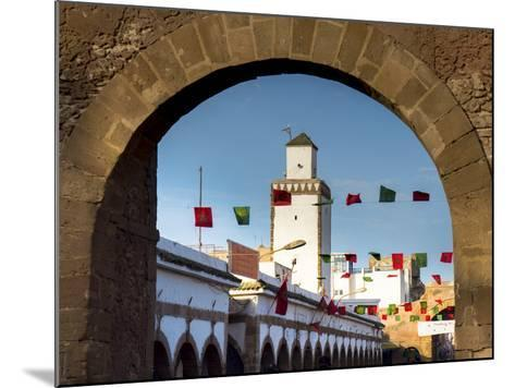 Medina Street Scene, Essaouira, Morocco, North Africa, Africa-Charles Bowman-Mounted Photographic Print