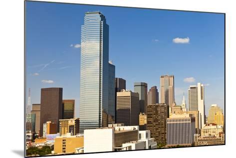 Skyline, Dallas, Texas, United States of America, North America-Kav Dadfar-Mounted Photographic Print
