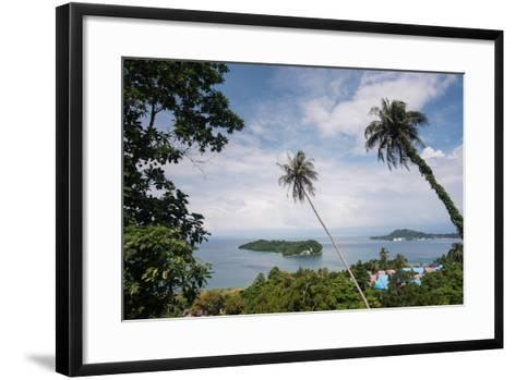 Viewpoint in Pulua Weh, Sumatra, Indonesia, Southeast Asia-John Alexander-Framed Art Print