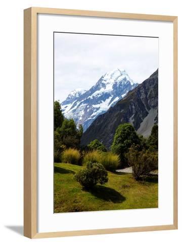 Aoraki/Mount Cook National Park, Southern Alps, South Canterbury, South Island, New Zealand-Suzan Moore-Framed Art Print