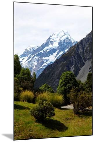 Aoraki/Mount Cook National Park, Southern Alps, South Canterbury, South Island, New Zealand-Suzan Moore-Mounted Photographic Print