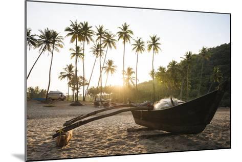 Dawn Light at Agonda Beach, Goa, India, South Asia-Ben Pipe-Mounted Photographic Print
