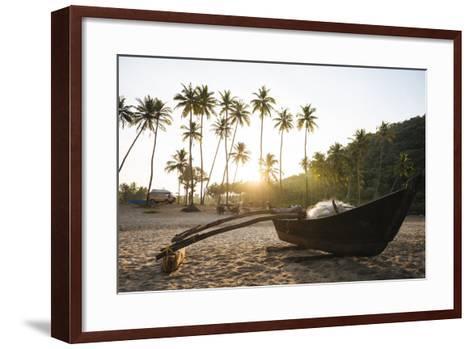 Dawn Light at Agonda Beach, Goa, India, South Asia-Ben Pipe-Framed Art Print