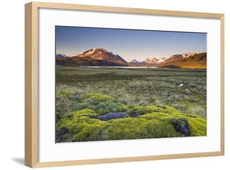 Sunrise at Belgrano Lake (Lago Belgrano), Argentina-Matthew Williams-Ellis-Framed Art Print