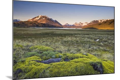 Sunrise at Belgrano Lake (Lago Belgrano), Argentina-Matthew Williams-Ellis-Mounted Photographic Print