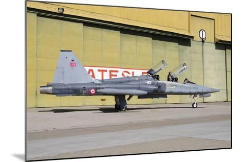 A Turkish Air Force F-5B-2000 Freedom Fighter-Stocktrek Images-Mounted Photographic Print