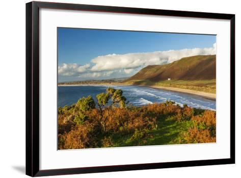 Rhossili Bay, Gower, Wales, United Kingdom, Europe-Billy Stock-Framed Art Print