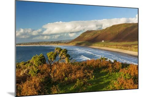 Rhossili Bay, Gower, Wales, United Kingdom, Europe-Billy Stock-Mounted Photographic Print