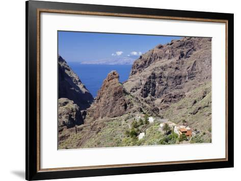 Mountain Village Masca, Teno Mountains, Tenerife, Canary Islands, Spain, Europe-Markus Lange-Framed Art Print