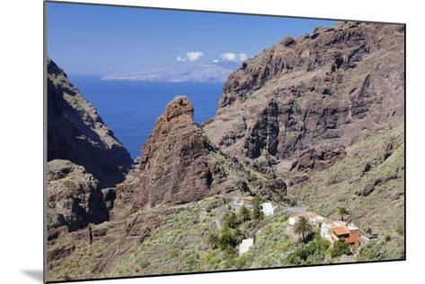 Mountain Village Masca, Teno Mountains, Tenerife, Canary Islands, Spain, Europe-Markus Lange-Mounted Photographic Print