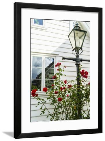 Old Stavanger (Gamle Stavanger) - About 250 Buildings Dating from Early 18th Century, Norway-Amanda Hall-Framed Art Print